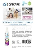 Softcare Hoitospray turkille 250 ml