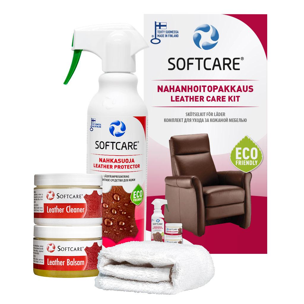 Leather Care Softcare Kit 275 Ml