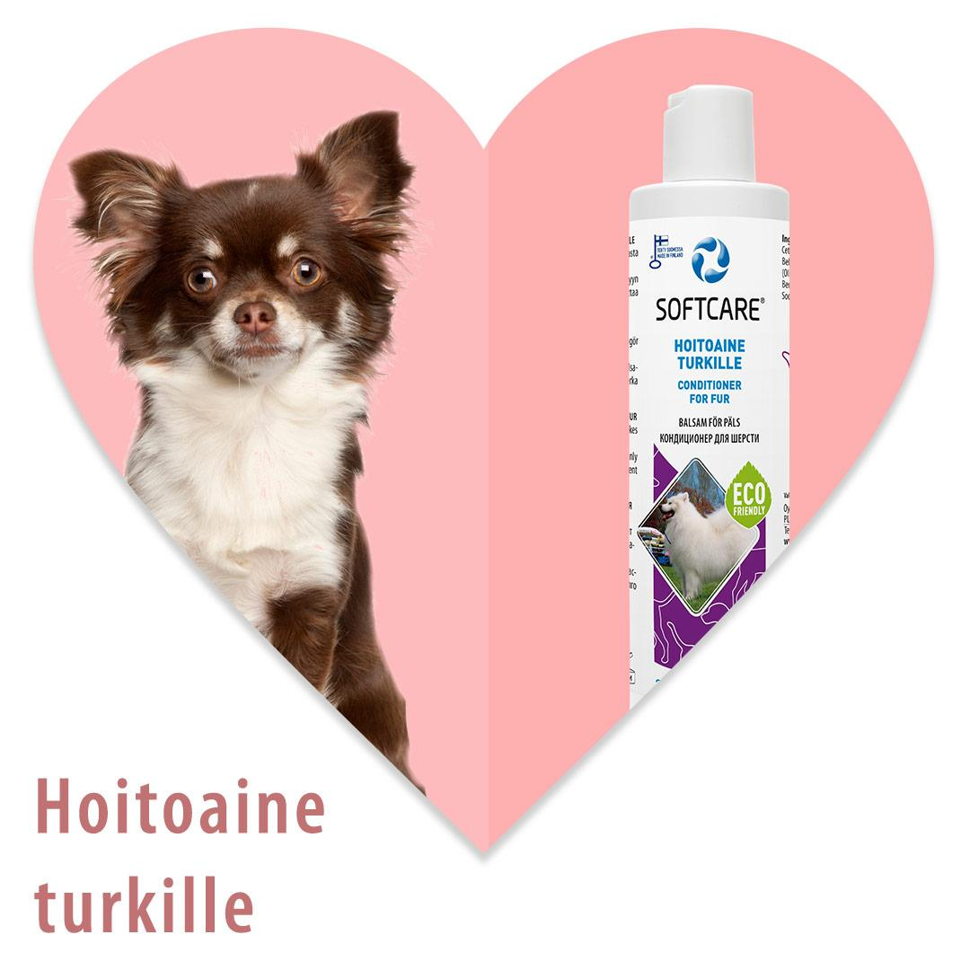 Softcare Hoitoaine turkille 250 ml